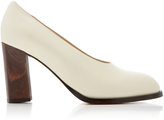 Co Ivory Leather Pump