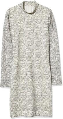 Dress the Population Women's Penelope Long Sleeve Lace Dress