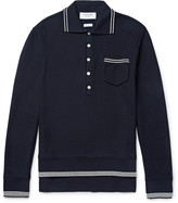 Thom Browne - Mercerised Cotton-piqué Polo Shirt
