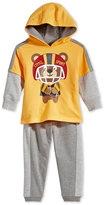Nannette Baby Boys' 2-Pc. Little Sport Hoodie & Pants Set