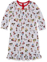 Snoopy Long Sleeve Peanuts Nightgown-Toddler Girls