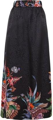 Ginger & Smart Nirvana jacquard maxi skirt