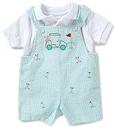Starting Out Baby Boys Newborn-24 Months Polo & Golf Shortall Set