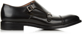 Paul Smith Perry leather monk-strap shoes