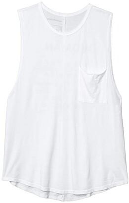 good hYOUman Riley All Women Tank (Optic White) Women's Clothing
