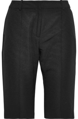 ADAM by Adam Lippes Cotton And Silk-blend Faille Shorts