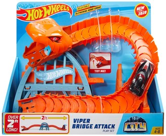 Mattel Hot Wheels City Nemesis Attack Play Set