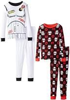 Star Wars Big Boys Rebels Four-Piece Cotton Pajama Sets