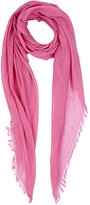 Barneys New York WOMEN'S GAUZE OVERSIZED SCARF-PINK