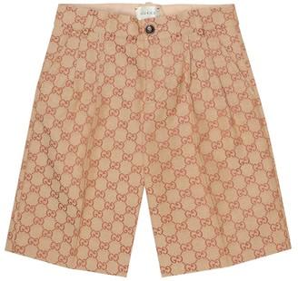 Gucci Kids GG cotton-blend shorts