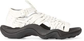 Ralph Lauren Leather Huarache Sneaker