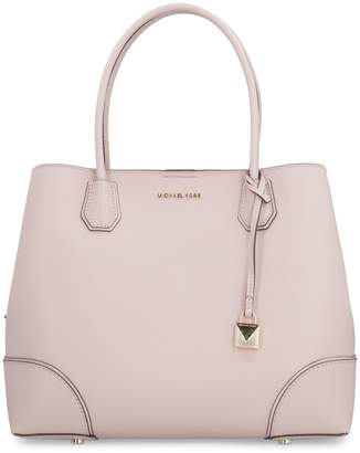 Michael Kors Mercer Gallery Leather Tote Bag