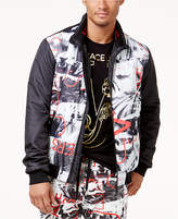 Versace Men's Graphic Print Jacket