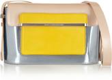Mary Katrantzou Color-block leather shoulder bag