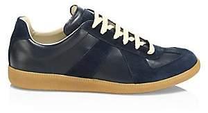 Maison Margiela Men's Replica Leather & Suede Sneakers