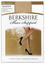 Berkshire Queen Silky Sheer Support Pantyhose