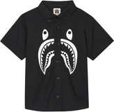 A Bathing Ape Shark cotton shirt 4-8 years
