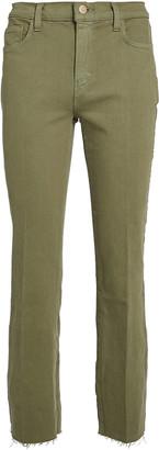 L'Agence Sada Slim Cropped Jeans