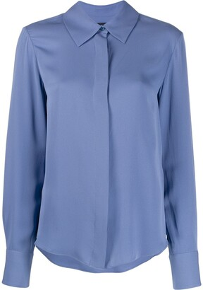 Tom Ford Silk Button-Up Blouse
