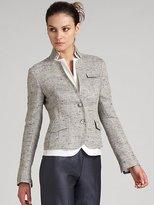 Fitted Tweed Jacket