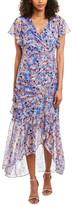 Shoshanna Silk-Blend Maxi Dress