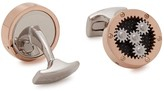 Deakin & Francis Planetary Rose Gold-plated Cufflinks