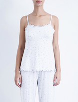 The White Company Rosebud jersey camisole