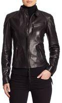Ralph Lauren Alton Leather Biker Jacket