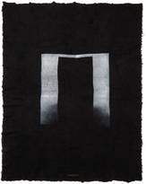 Niløs Black and White Stole