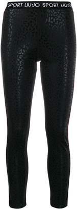 Liu Jo leopard-print leggings