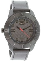 adidas Men's Originals ADH3035 Black Leather Quartz Dress Watch