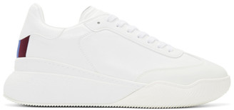 Stella McCartney White Loop Lace-Up Sneakers