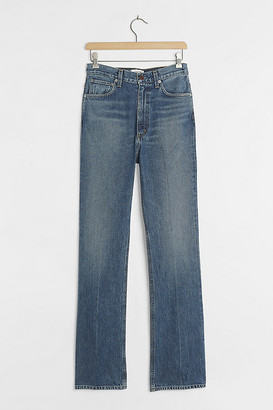 AGOLDE Vintage Ultra High-Rise Flare Jeans By in Blue Size 29