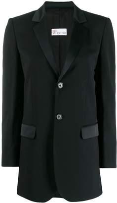 RED Valentino slim fit blazer
