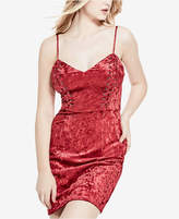 GUESS Gennifer Velvet Slip Dress