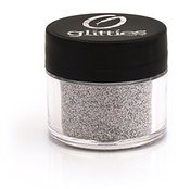 Crushed Silver Jewel - Holographic Cosmetic Grade Fine Glitter Powder Safe for Skin! Great for Body Tattoos, Makeup, Face, Hair, Lips, Soap, Lotion, & Nail Art - Made in the USA! (10 Gram Jars)