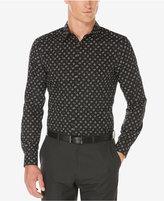 Perry Ellis Men's Non-Iron Stretch Star-Print Shirt