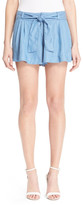 Parker Belted Chambray Short