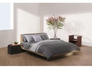 Calvin Klein Grid Formation Comforter Set, King Bedding