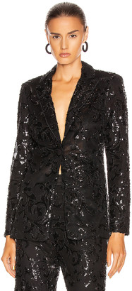 Alexis Firdas Jacket in Beaded Black | FWRD