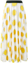 Christopher Kane sun print skirt - women - Silk/Polyester/Acetate - 38