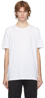 Paul Smith Three-Pack White Cotton T-Shirts