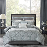 JCPenney Madison Park Anouk 12-pc. Jacquard Complete Bedding Set with Sheets
