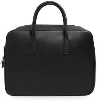 Tde Leather Messenger Bag