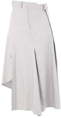 FRONT ROW SHOP 3/4 length skirt