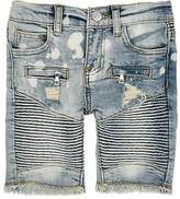 Haus of JR Distressed Denim Shorts