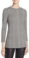 Theory Lauret Plaid Top