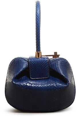 Gabriela Hearst 'Demi' snakeskin leather dumpling bag