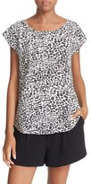 Joie Rancher N Print Silk Cap Sleeve Top