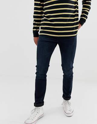 Levi's 510 skinny fit standard rise jeans in rajah indigo wash-Navy